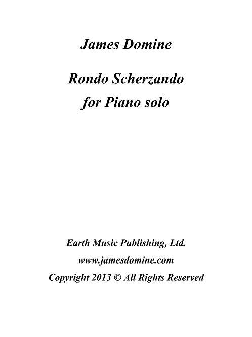 Piano solo – Rondo Scherzando