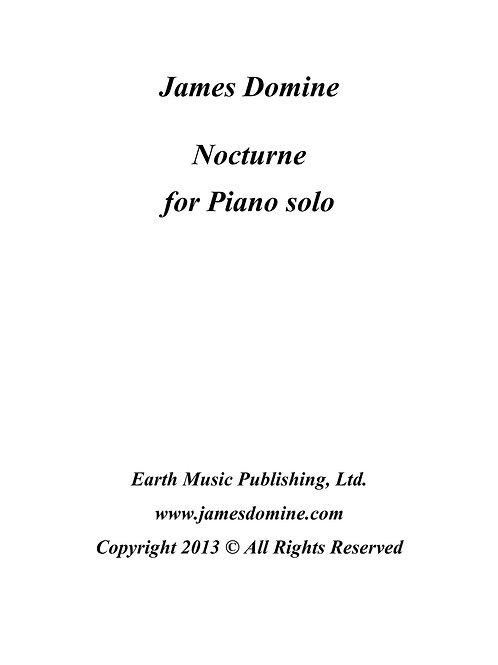 Piano solo - Nocturne