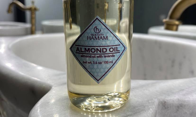 Almond Oil with Levanda