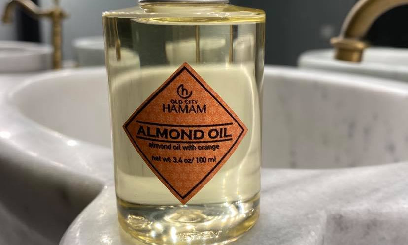 Almond Oil with Orange