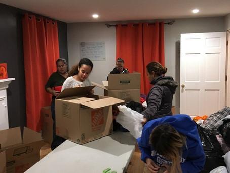 Sending Supplies to Puerto Rico