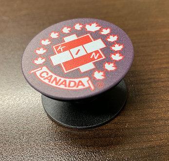 Kin Canada PopUp Phone Grips -Black