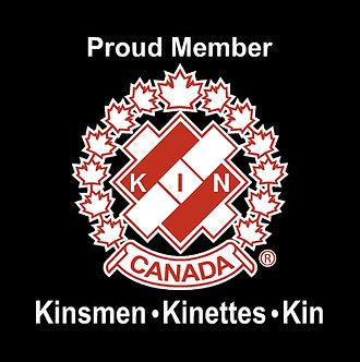 Kin Canada Kinsmen Kinettes Kin Window decal
