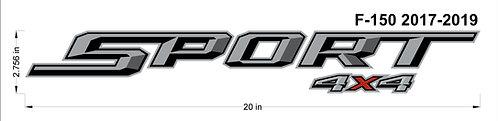 Ford F150 Sport 4x4 Decal
