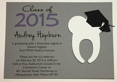 Tooth Graduate Announcement