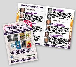 LitFest Leaflet