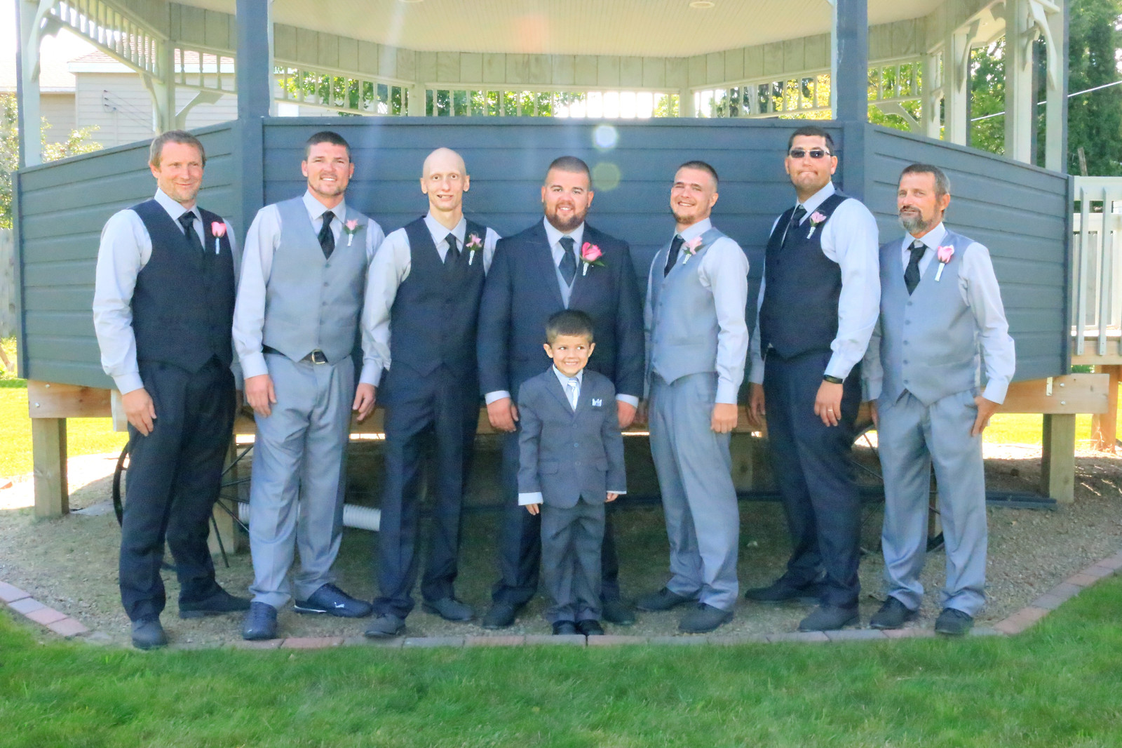 Kampsen Kreations | Tadych Wedding | Wedding Party