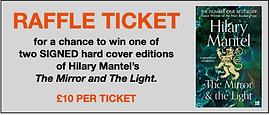 Hilary Mantel Raffle Ticket