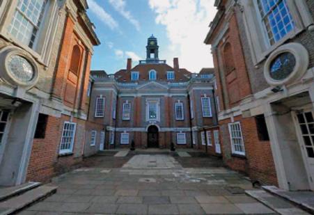 Photo of Henrietta Barnet Schoold entrance
