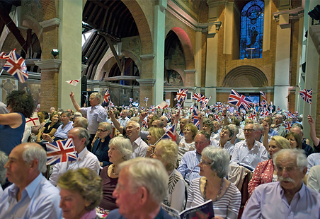 Reflections Photo 3: Photo of last night at the Proms.