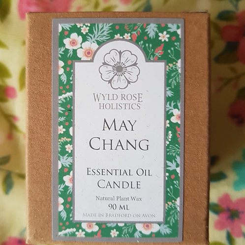 May Chang Essential Oil Candle