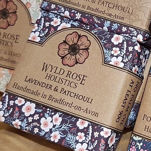 Lavender and Patchouli - Artisan Soap
