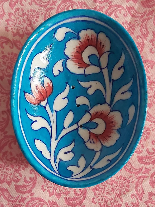 Traditionally, Hand Painted Jaipur Soap Dish