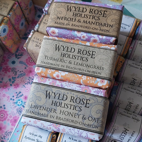 Artisan Handcrafted Soaps- Mixed 3 x 50g