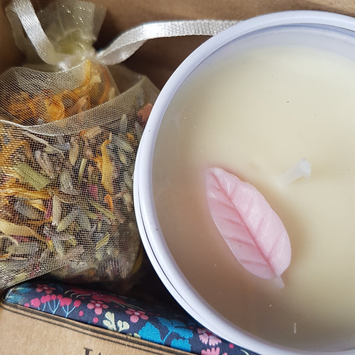 Lavender & Star Anise  Eco-Soy Natural Plant Wax Candle 100ml