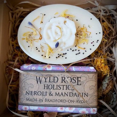 Bespoke Artisan Gift Box- Neroli and Red Mandarin