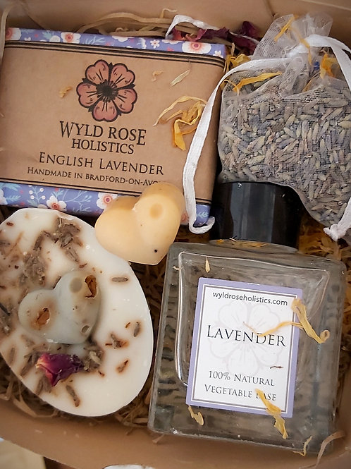 Luxury Bespoke Aromatherapy Gift Box- Lavender
