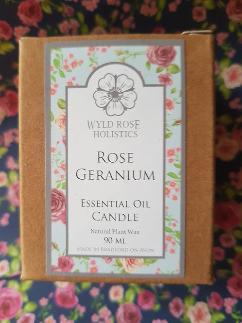 Rose Geranium Candle