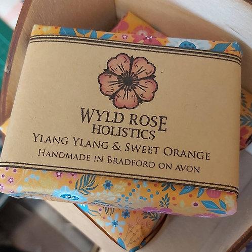 Bespoke Artisan Soap -Ylang Ylang & Sweet Orange