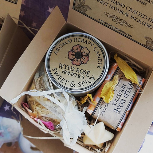 Luxury Rustic Gift Box - Lavender & Star Anise
