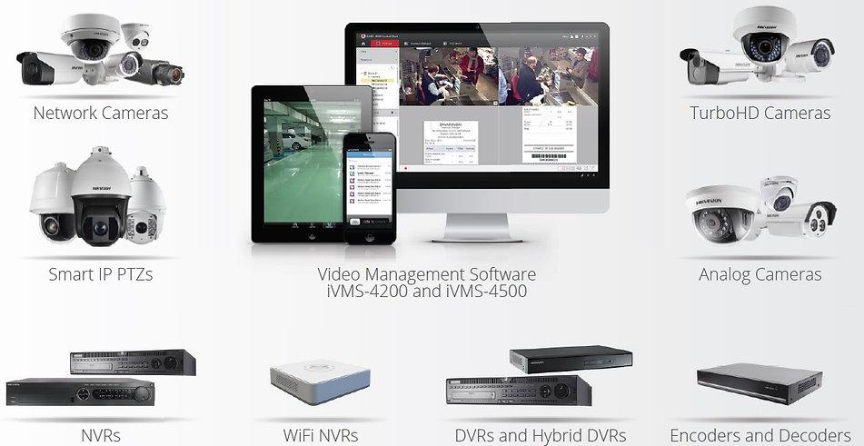 Hikvision stebėjimo sistemos