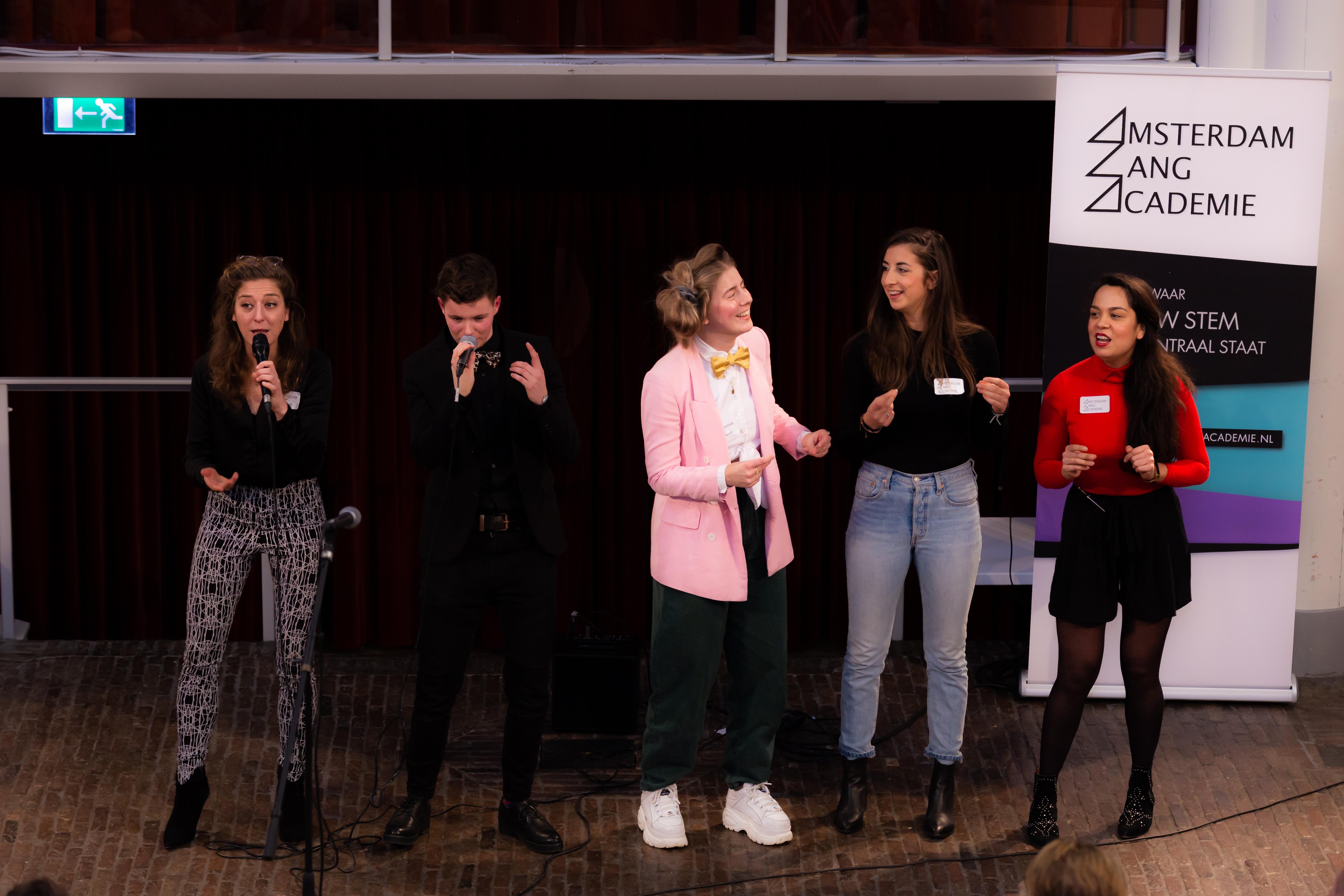 Nieuwjaarsconcert 2019 zangles