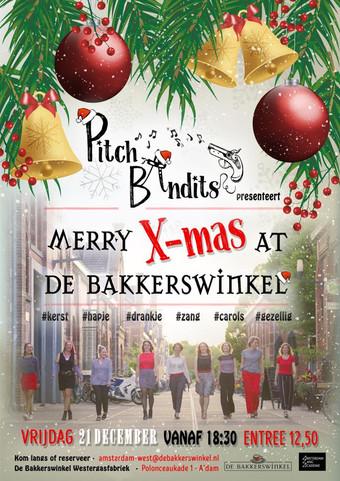 KERST met The Pitch Bandits in de Bakkerswinkel!