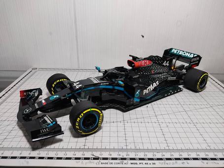 Mercedes 2020 W11 Lewis Hamilton