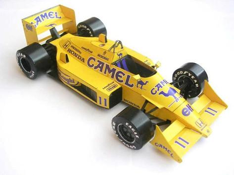Lotus 99T 1987 A. Senna