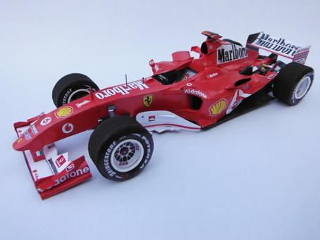 Ferrari 2004 F2004 M. Schumacher & R. Barichello