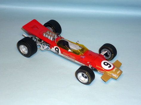 Lotus 49B 1968 Graham Hill