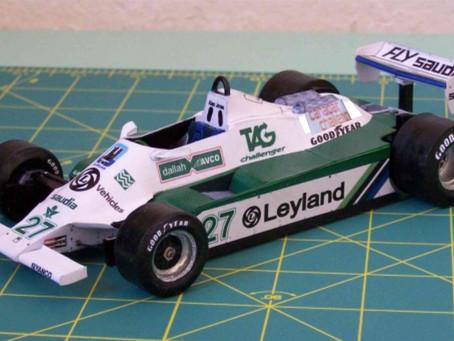 Willams FW07B 1980 A. Jones