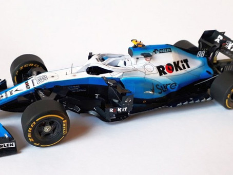 Williams FW42 2019 G. Russell