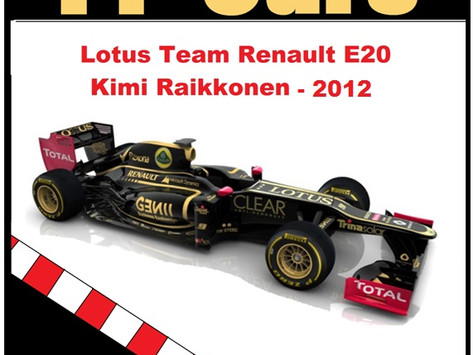Lotus E20 2012 K. Raikkönen