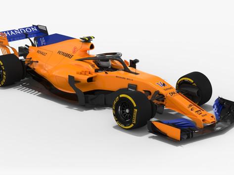 McLaren MCL33 2018 F. Alonso