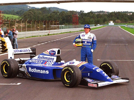 Williams FW16 1994 A. Senna