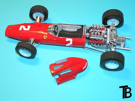 Ferrari 158 1964 Monza John Surtees