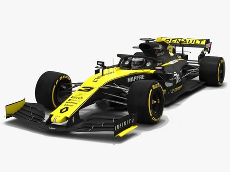 Renault RS19 2019 D. Ricciardo