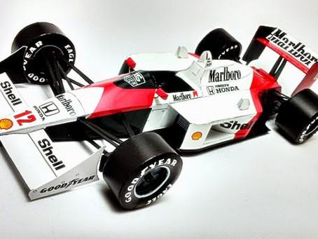 Mclaren Mp4/4 1988 A. Senna
