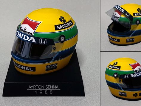 1988 Ayrton Senna Kask