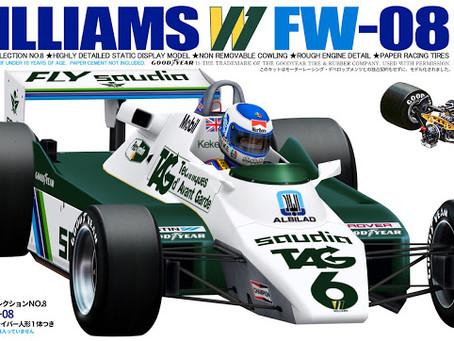 Williams FW08 1982 Keke Rosberg