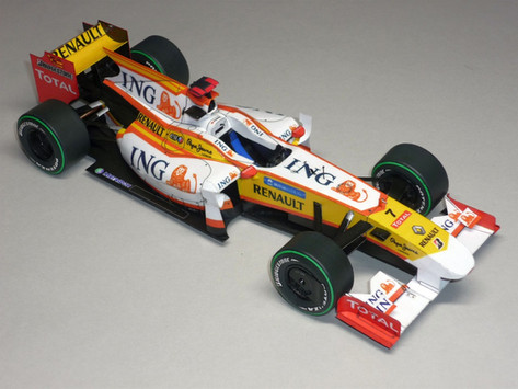 Renault R29 2009 F. Alonso
