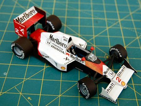 Mclaren MP4/5 1989 A. Prost & A. Senna