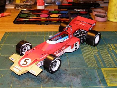 Lotus 72 1970 J. Hindt & E. Fittipaldi