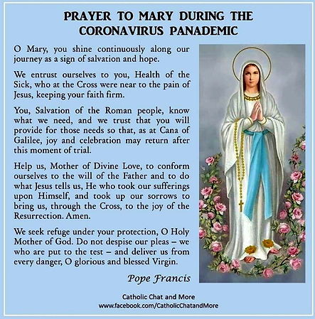 Prayer to Mary