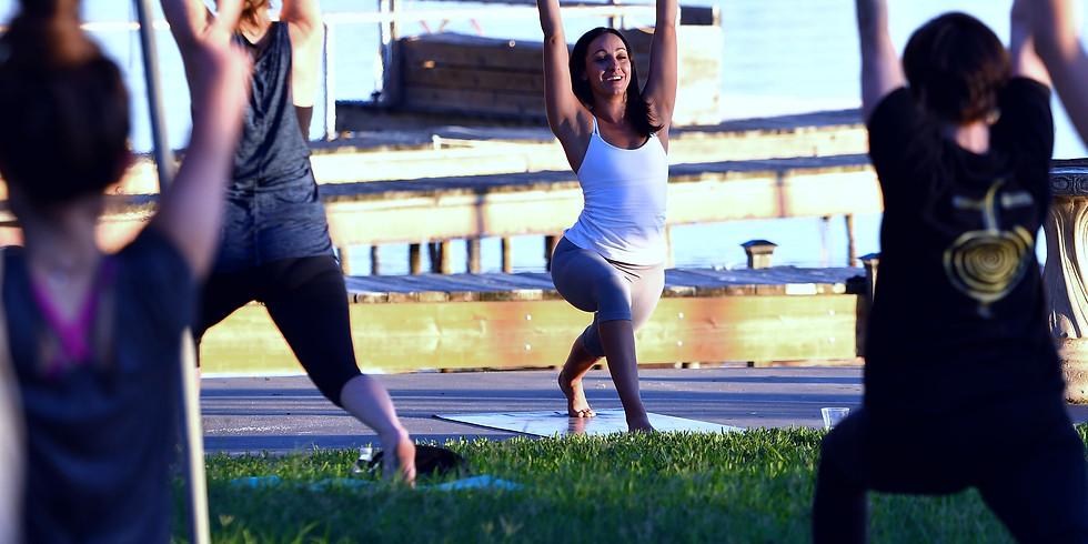 Labor SaturDay Yoga Lakeside