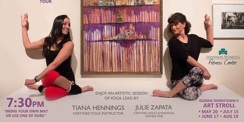 Art, Wine & Yoga