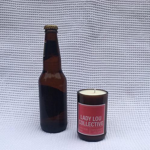 Beer Bottle Candle - Vanilla Bean Shake