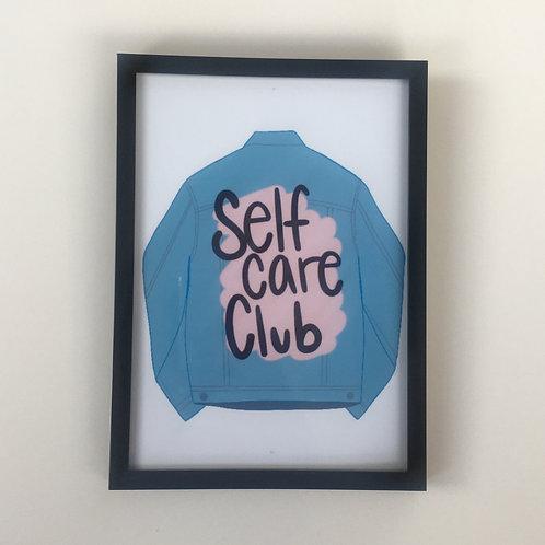 "Self Care Club 5"" x 7"" Print"