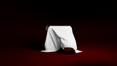 Cube, Cloth And Ball (The Veil)